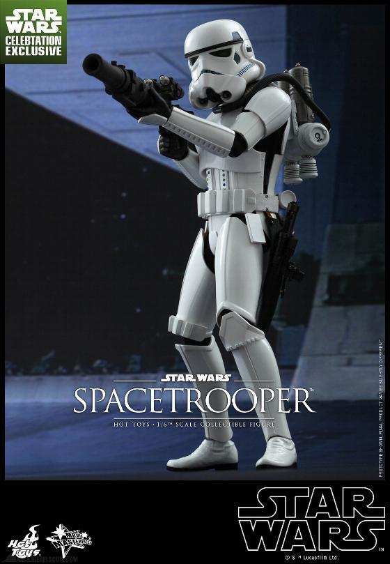 Hot Toys Star Wars: Episode IV ANH 1/6th Scale Spacetrooper Spacet10