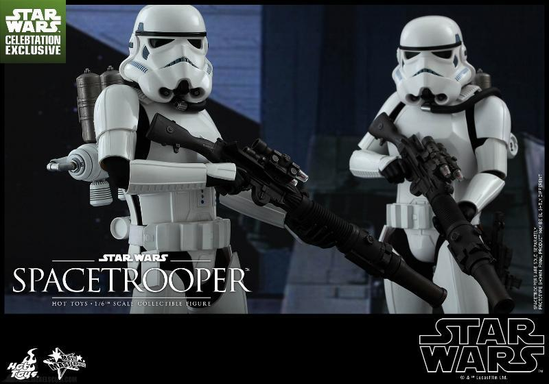 Hot Toys Star Wars: Episode IV ANH 1/6th Scale Spacetrooper Spacet13