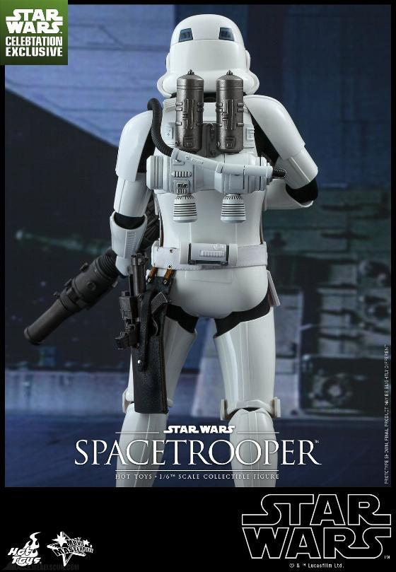 Hot Toys Star Wars: Episode IV ANH 1/6th Scale Spacetrooper Spacet14