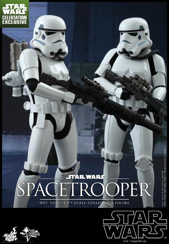 Hot Toys Star Wars: Episode IV ANH 1/6th Scale Spacetrooper Spacet16