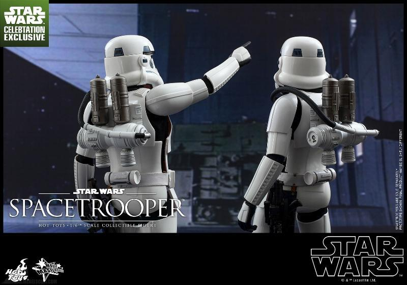 Hot Toys Star Wars: Episode IV ANH 1/6th Scale Spacetrooper Spacet18