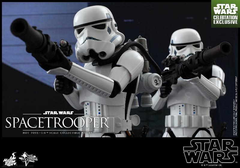 Hot Toys Star Wars: Episode IV ANH 1/6th Scale Spacetrooper Spacet19