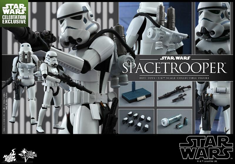Hot Toys Star Wars: Episode IV ANH 1/6th Scale Spacetrooper Spacet20