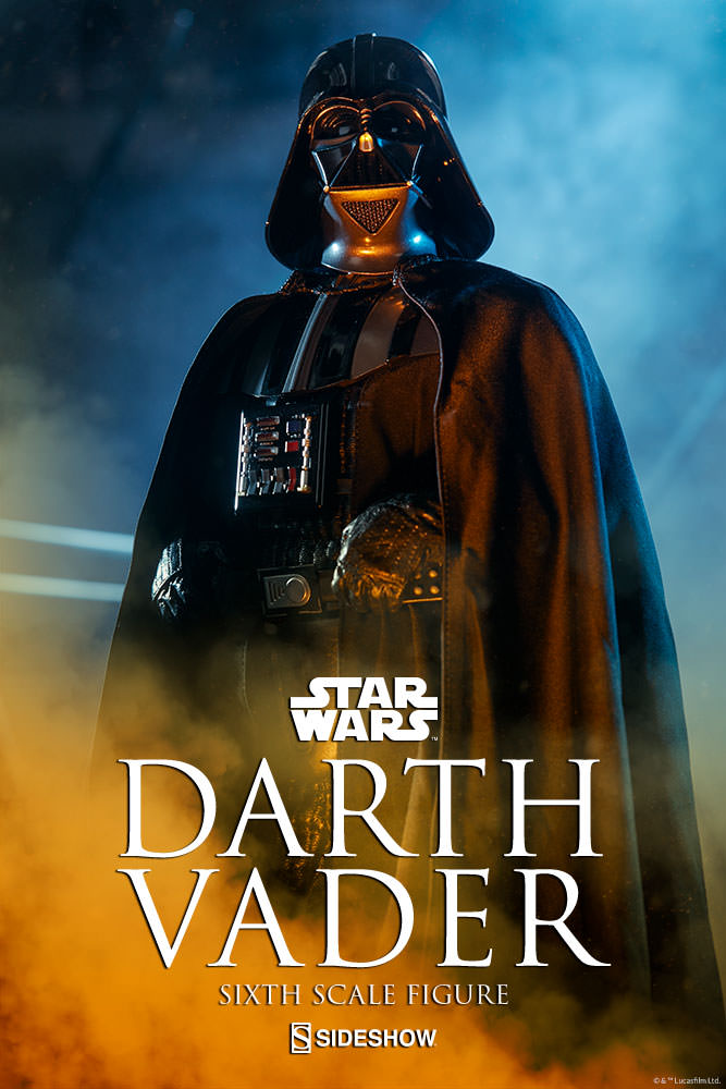 Sideshow - Darth Vader Deluxe Sixth Scale Figure  Star-w10