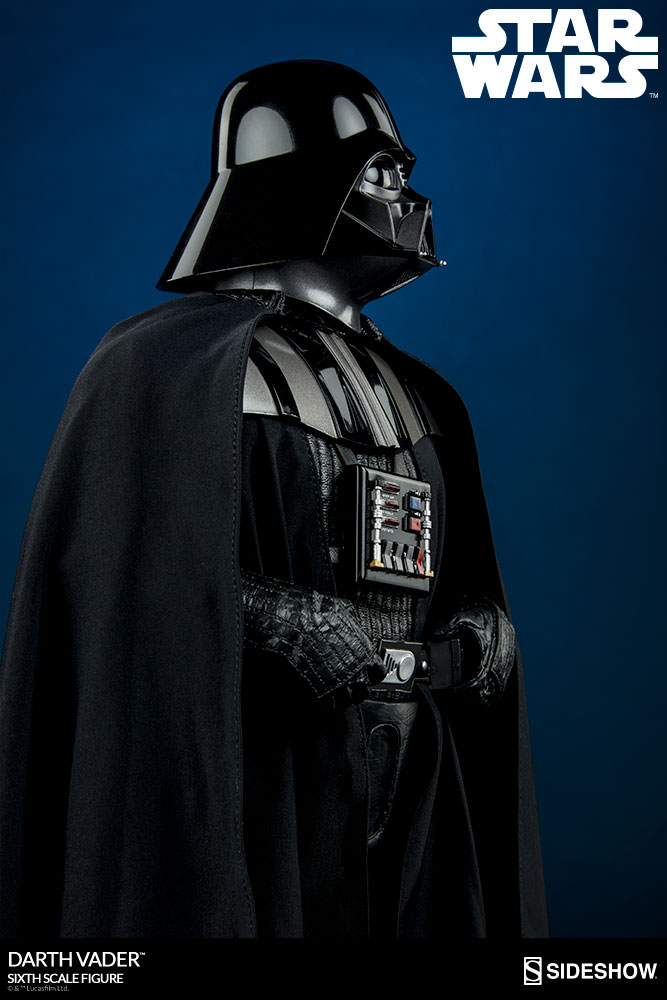 Sideshow - Darth Vader Deluxe Sixth Scale Figure  Star-w11