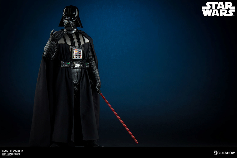 Sideshow - Darth Vader Deluxe Sixth Scale Figure  Star-w12