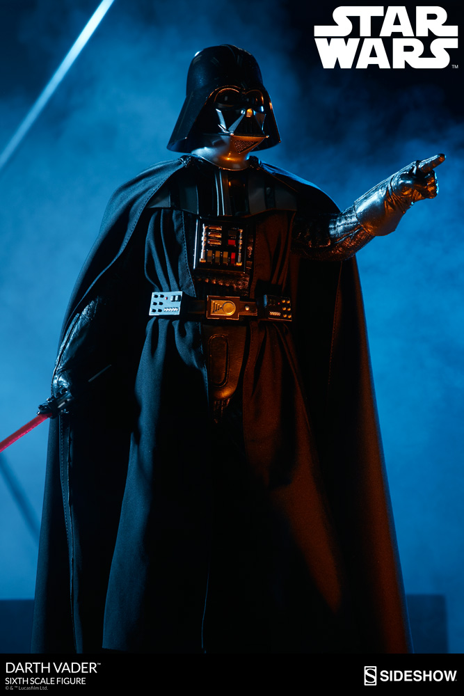 Sideshow - Darth Vader Deluxe Sixth Scale Figure  Star-w17
