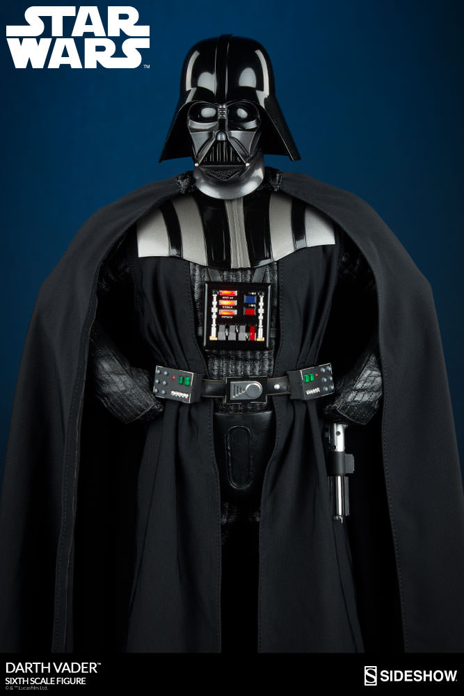 Sideshow - Darth Vader Deluxe Sixth Scale Figure  Star-w20