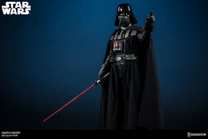 Sideshow - Darth Vader Deluxe Sixth Scale Figure  Star-w21