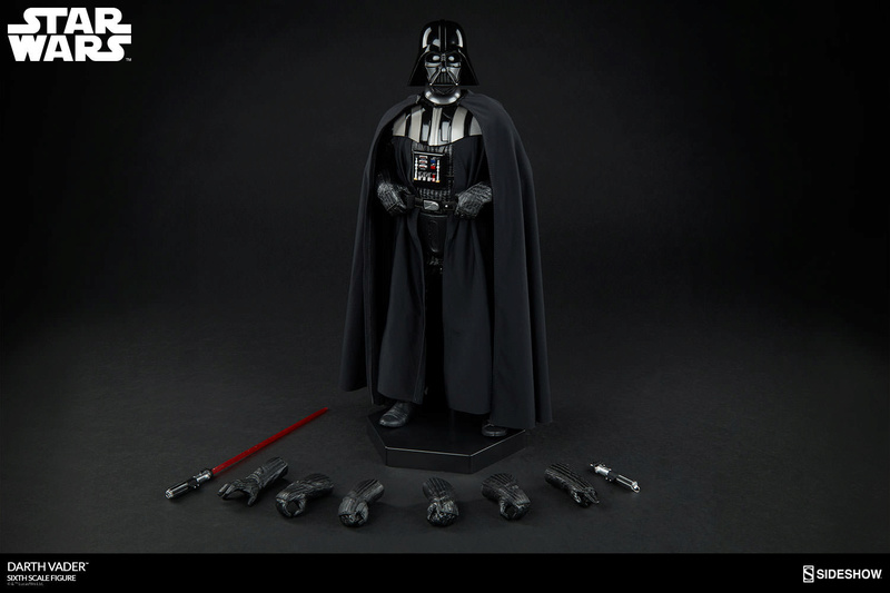 Sideshow - Darth Vader Deluxe Sixth Scale Figure  Star-w23