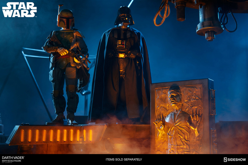 Sideshow - Darth Vader Deluxe Sixth Scale Figure  Star-w25