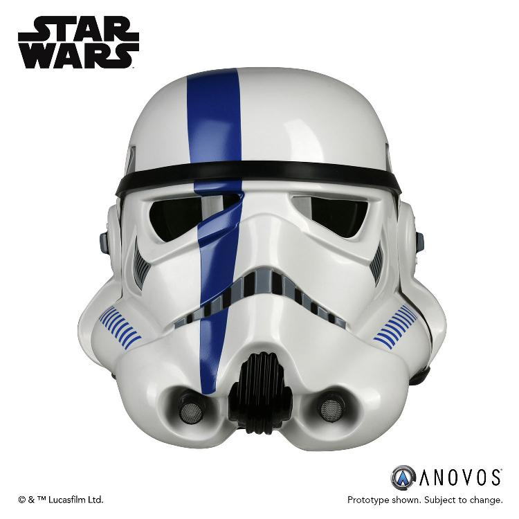 ANOVOS - Star Wars Stormtrooper Commander wearable helmet Storm_13