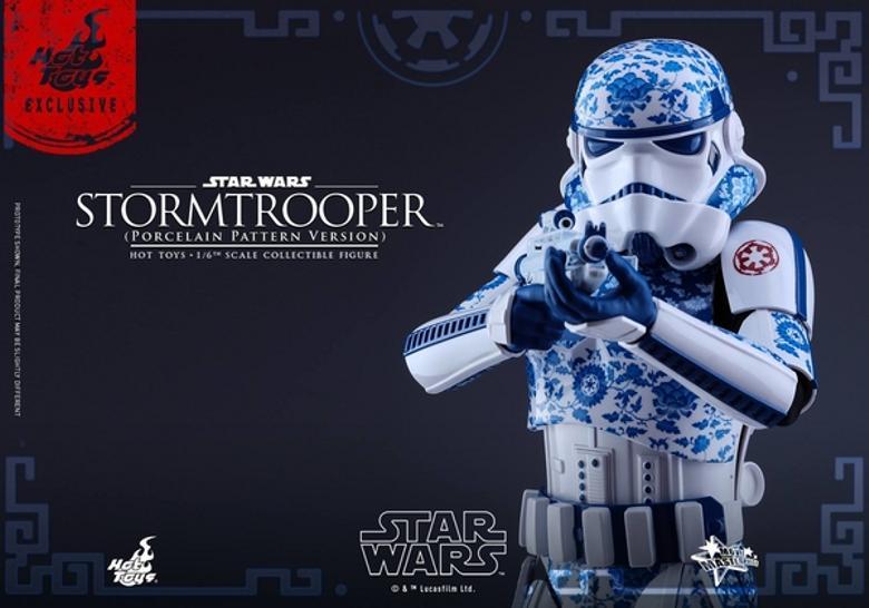 Hot Toys Star Wars 1/6 scale Stromtrooper Porcelain version Storm_16
