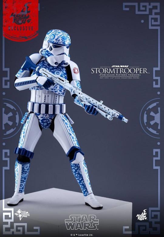 Hot Toys Star Wars 1/6 scale Stromtrooper Porcelain version Storm_17