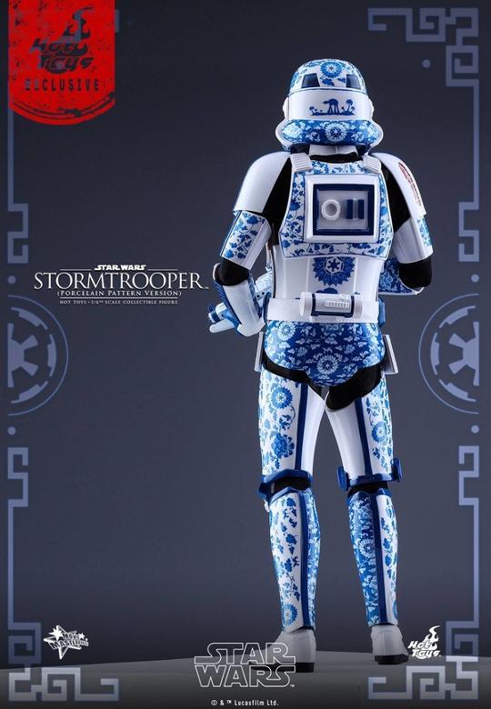 Hot Toys Star Wars 1/6 scale Stromtrooper Porcelain version Storm_18