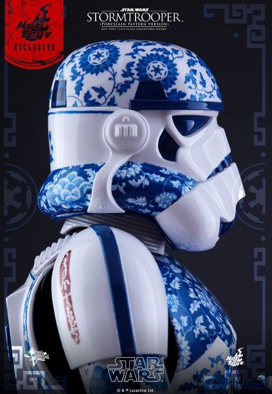 Hot Toys Star Wars 1/6 scale Stromtrooper Porcelain version Storm_21
