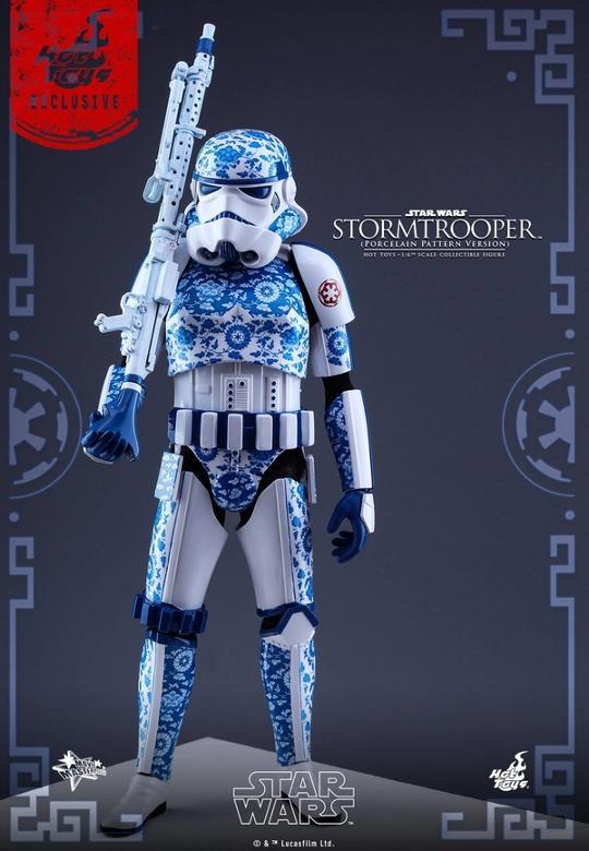 Hot Toys Star Wars 1/6 scale Stromtrooper Porcelain version Storm_22