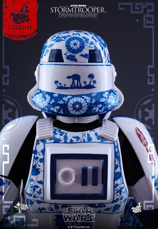 Hot Toys Star Wars 1/6 scale Stromtrooper Porcelain version Storm_25