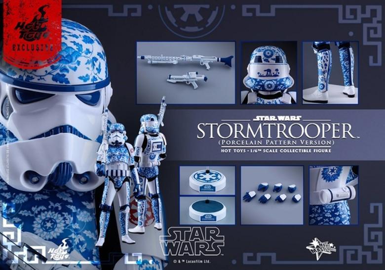 Hot Toys Star Wars 1/6 scale Stromtrooper Porcelain version Storm_26