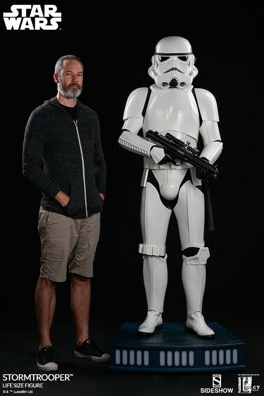 Sideshow Collectibles - Stormtrooper Life-Size Figure Storm_38