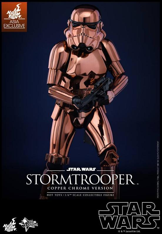 Hot Toys Star Wars 1/6th Stormtrooper Copper Chrome Version Stormc10