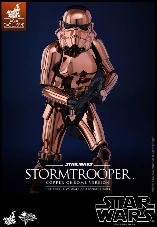 Hot Toys Star Wars 1/6th Stormtrooper Copper Chrome Version Stormc11