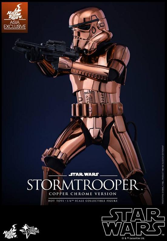 Hot Toys Star Wars 1/6th Stormtrooper Copper Chrome Version Stormc12