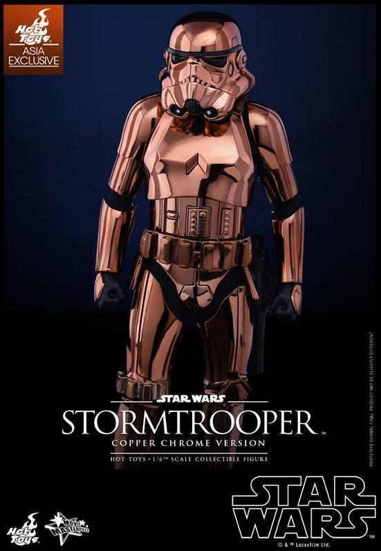 Hot Toys Star Wars 1/6th Stormtrooper Copper Chrome Version Stormc13
