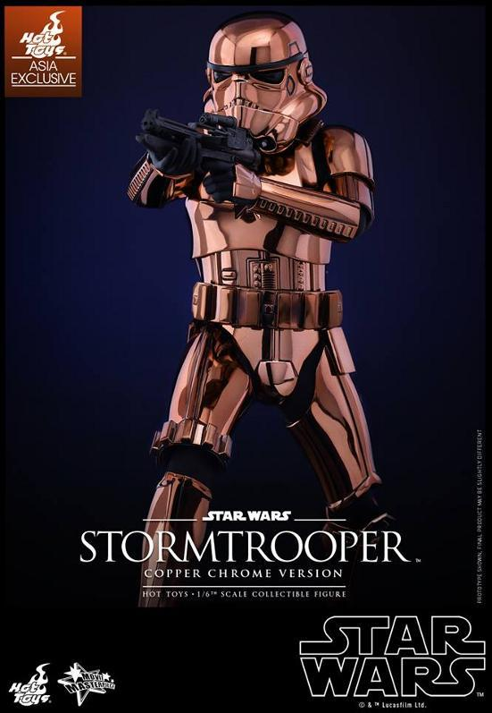 Hot Toys Star Wars 1/6th Stormtrooper Copper Chrome Version Stormc14