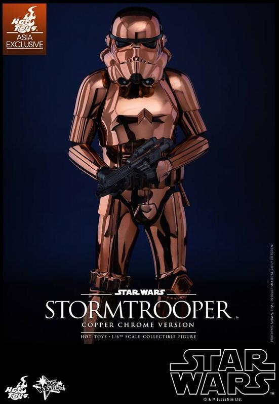 Hot Toys Star Wars 1/6th Stormtrooper Copper Chrome Version Stormc15