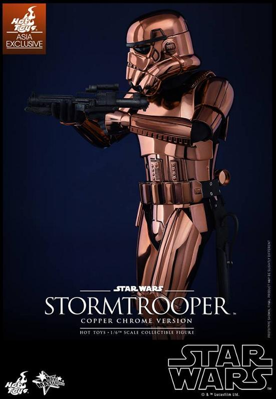Hot Toys Star Wars 1/6th Stormtrooper Copper Chrome Version Stormc16