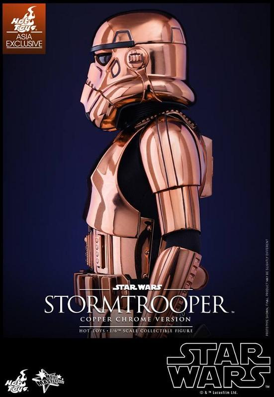 Hot Toys Star Wars 1/6th Stormtrooper Copper Chrome Version Stormc17