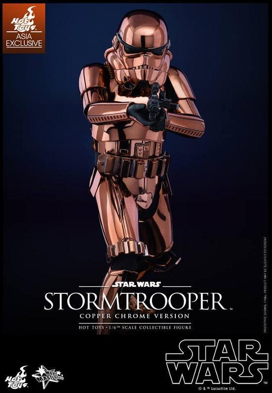Hot Toys Star Wars 1/6th Stormtrooper Copper Chrome Version Stormc18