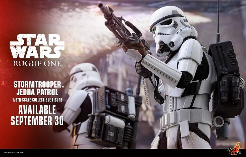 Hot Toys Stormtrooper Jedha Patrol 1/6th collectible figure Stormj10
