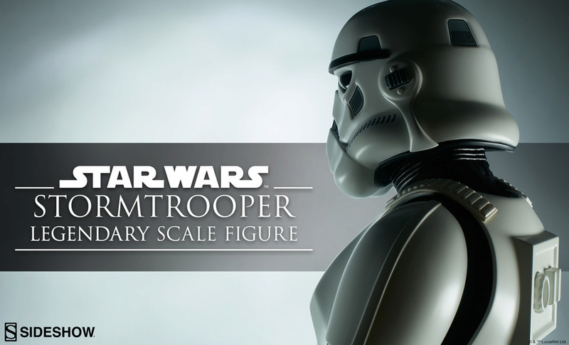 Sideshow Collectibles - Stormtrooper Legendary Scale Figure Stormt37
