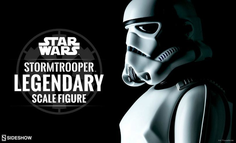 Sideshow Collectibles - Stormtrooper Legendary Scale Figure Stormt38