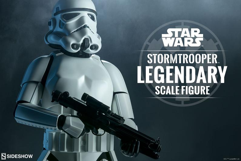 Sideshow Collectibles - Stormtrooper Legendary Scale Figure Stormt39