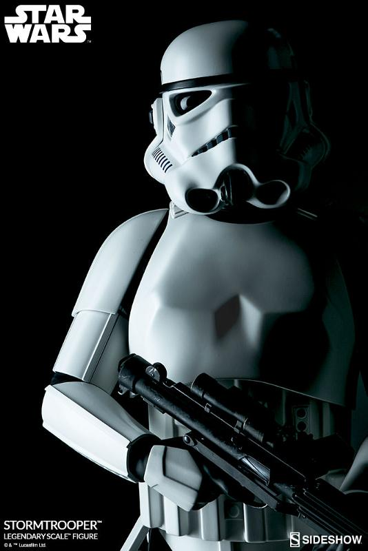 Sideshow Collectibles - Stormtrooper Legendary Scale Figure Stormt40