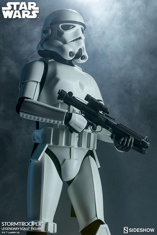 Sideshow Collectibles - Stormtrooper Legendary Scale Figure Stormt46