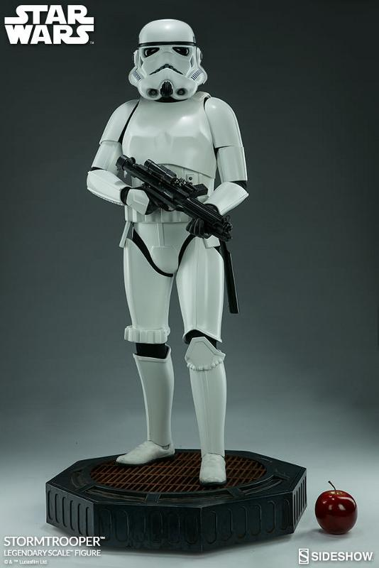 Sideshow Collectibles - Stormtrooper Legendary Scale Figure Stormt47