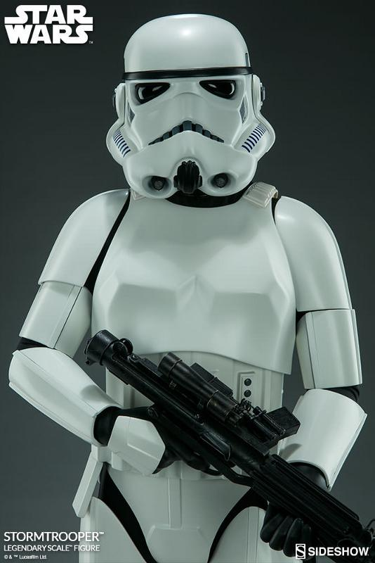 Sideshow Collectibles - Stormtrooper Legendary Scale Figure Stormt50
