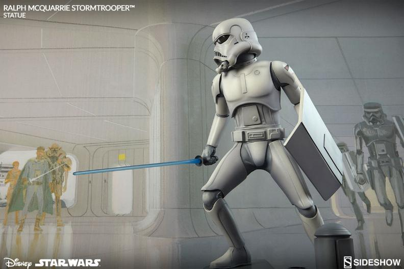 Sideshow Stormtrooper Statue Ralph McQuarrie Artist Series  Stormt60