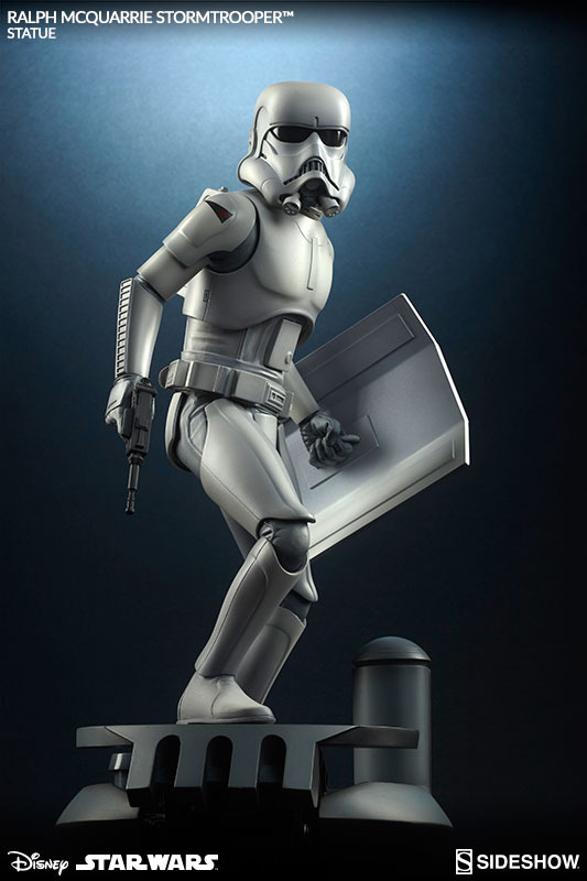 Sideshow Stormtrooper Statue Ralph McQuarrie Artist Series  Stormt64