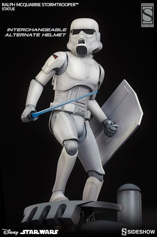 Sideshow Stormtrooper Statue Ralph McQuarrie Artist Series  Stormt66
