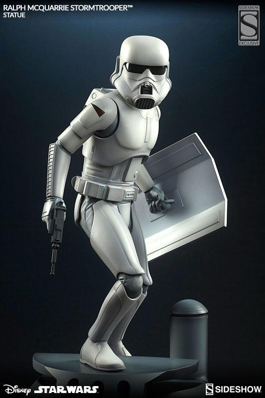 Sideshow Stormtrooper Statue Ralph McQuarrie Artist Series  Stormt70