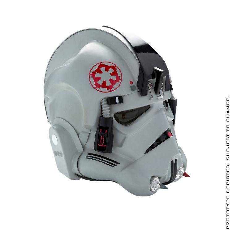 ANOVOS STAR WARS Standalone AT-AT Driver Helmet  Sw-at-16