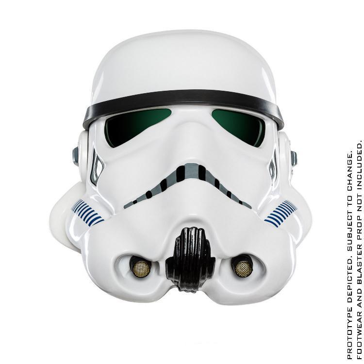 ANOVOS STAR WARS Standalone Stormtrooper Helmet   Sw-imp31