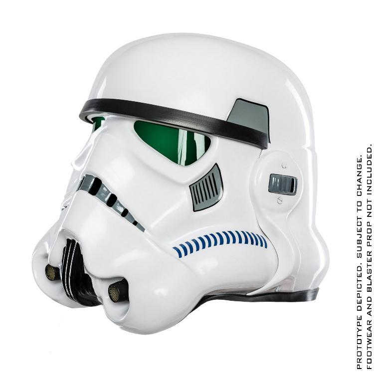 ANOVOS STAR WARS Standalone Stormtrooper Helmet   Sw-imp32