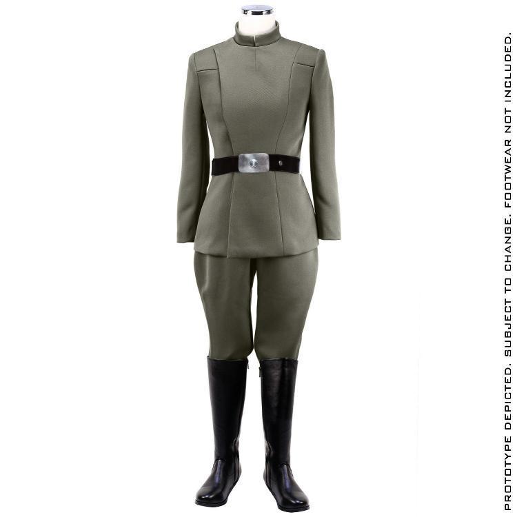 ANOVOS STAR WARS - Women's Imperial Officer - Olive Uniform Sw-imp36