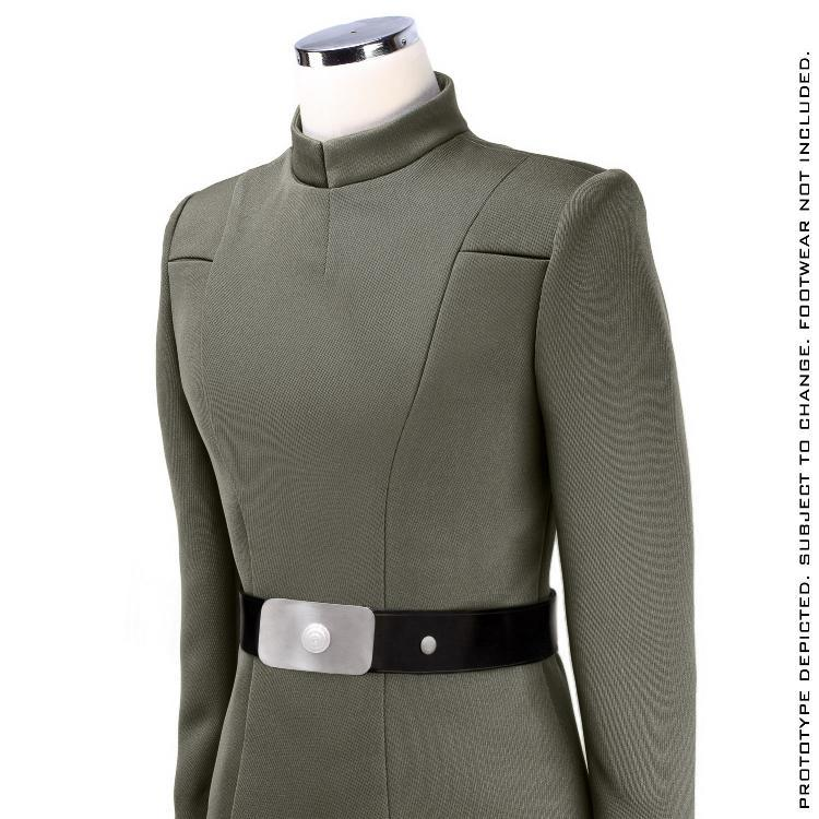 ANOVOS STAR WARS - Women's Imperial Officer - Olive Uniform Sw-imp39